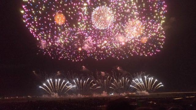 伝統ある長岡の花火